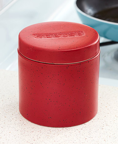 Grease Saver Container with Strainer