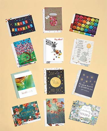 24-Pc. or 36-Pc. Classic Artvelope All-Occasion Card Set