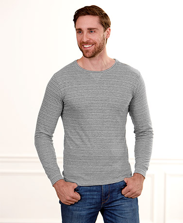 Men's Long-Sleeved Jersey Tees
