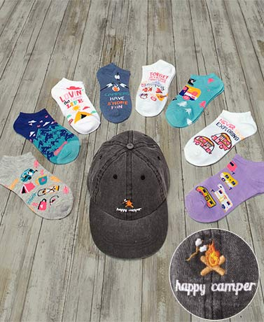 Happy Camper Fashion Accessories