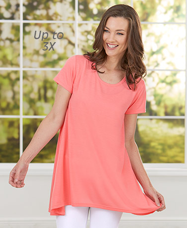 Women's Set of 2 Swing Tunic Tops