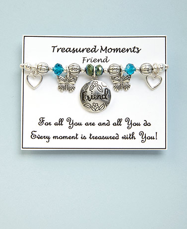 Sentiment Stretch Charm Bracelets