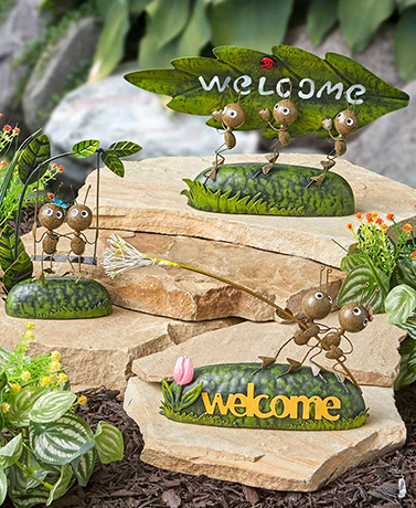 Ants Metal Garden Statue Collection