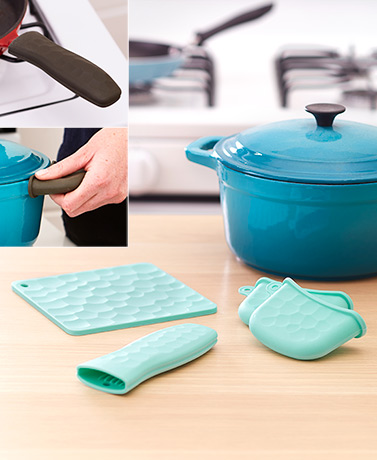 4-Pc. Heat-Resistant Silicone Gadget Sets