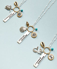 Inspirational Sealife Charm Necklaces