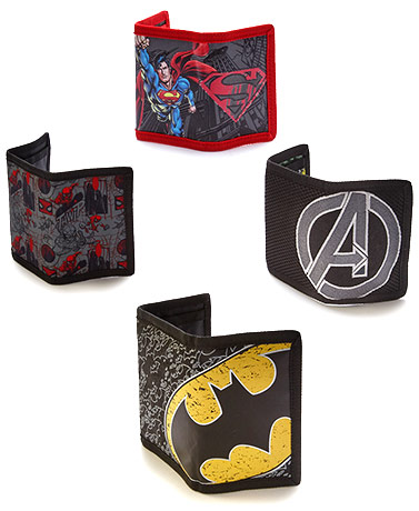 Licensed Trifold Wallets