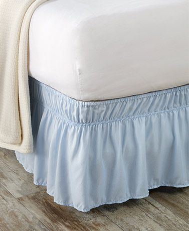 Easy Wrap-Around Microfiber Bedskirts