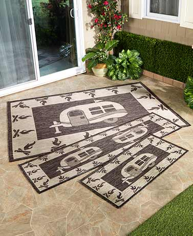 Themed IndoorOutdoor Rug Collections