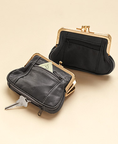 Four-Pocket Leather Wallets