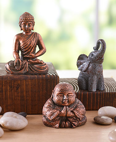 Mini Good Fortune Figurines