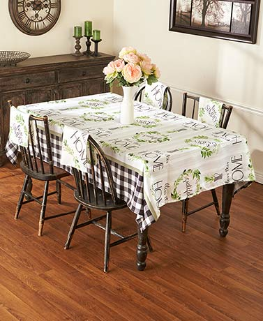 Live Simply Table Linens