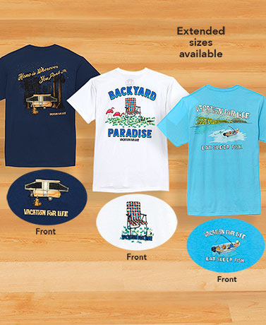 Men's Vacation For Life® Outdoor T-Shirts
