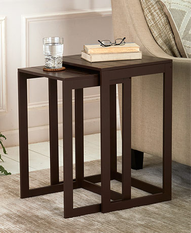 Set of 2 Nesting Side Tables