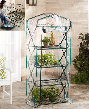 5-Ft. Foldaway Portable Greenhouse