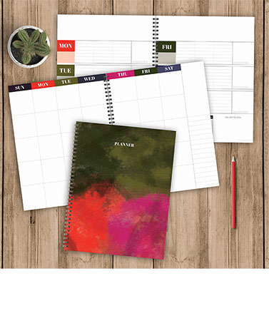 Large Undated Planner or Daily Task Pad