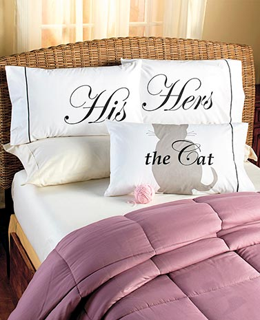 Cat Lovers Pillowcases