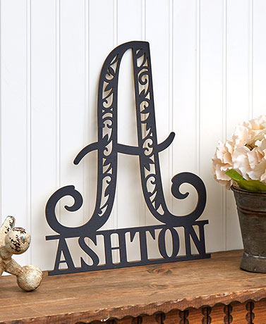Personalized Family Name Wood Plaques