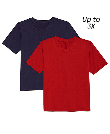 Sets of 2 Knit Unisex Tees