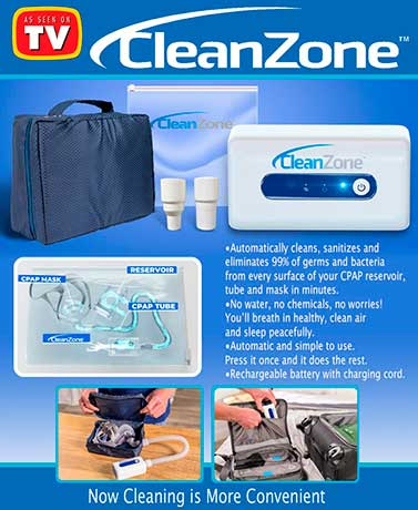 Clean Zone™ CPAP Cleaner