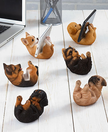 Dog Breed Cell Phone Holders