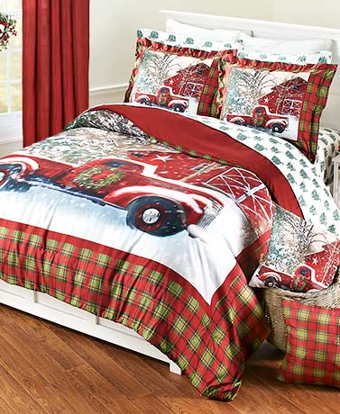 Home for the Holidays Comforter or Sham