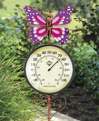 Garden Thermometer Stakes