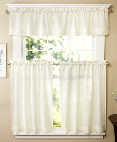 Ribbon Eyelet Curtains