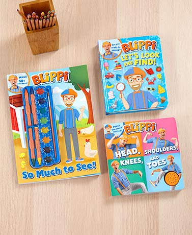 Blippi Book Collection