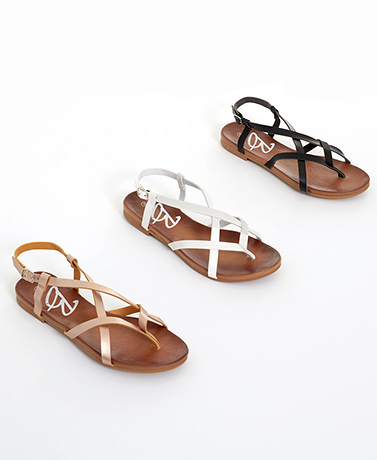 Strappy Comfort Sandals