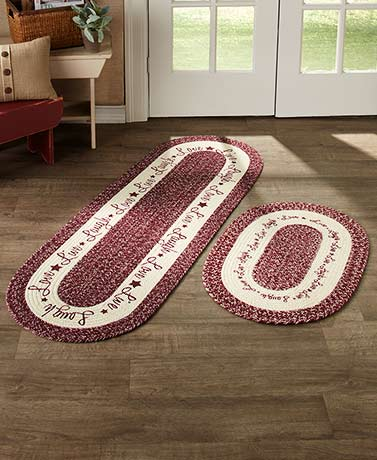 Cotton Braided Rugs or Runners