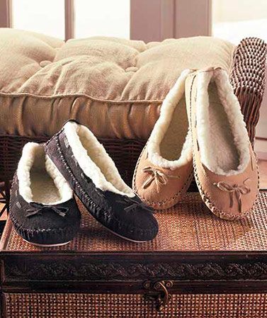 Women's Genuine Suede Moccasins